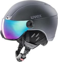 UVEX Hlmt 400 Visor Style Titanium Mat 53-58 cm 17/18