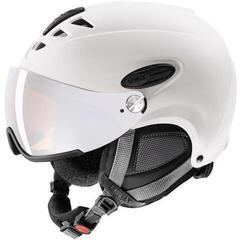 UVEX Hlmt 300 Visor White Mat 53-56 cm 17/18