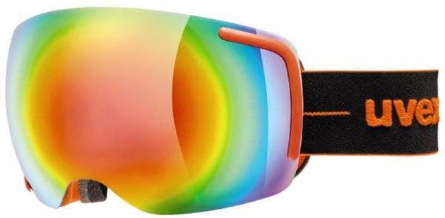 UVEX Big 40 FM Orange/Mirror Rainbow 17/18