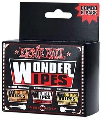 Ernie Ball 4279 Wonder Wipes Multi-pack