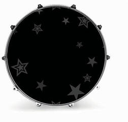 Evans 20'' GRAPHIC GREY STARS