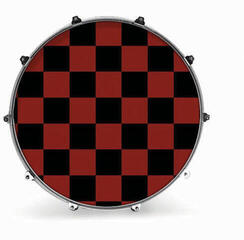 Evans 24'' GRAPHIC RED CHECKER