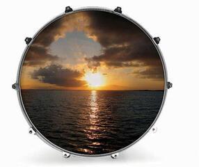 """Evans INK24NTROCN2 24"""" NATURE OCEAN 2 Resonant Drum Head"""