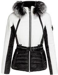 Sportalm Kelly TG Womens Jacket with Hood and Fur Black