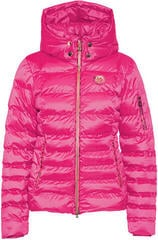 Sportalm Kyla RR Womens Jacket with Hood and Fur Neon Pink 34