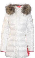 Sportalm Dakota Womens Jacket with Hood and Fur Turtledove