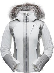 Spyder Amour Real Fur Womens Jacket White/Silver 6
