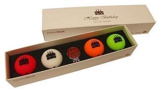 Volvik Vivid Happy Birthday 4 Balls Set
