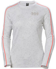 Helly Hansen Lifa Active Graphic Crew Womens White/Winter Berry Prt M
