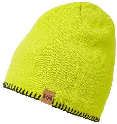Helly Hansen Mountain Beanie Fleece Lined Cap Sweet Lime/Graphite