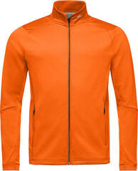 Kjus Diamond Fleece Mens Jacket Kjus Orange 54