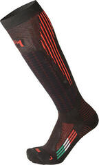 Mico Medium Weight M1 Performance Ski Socks Nero Rosso