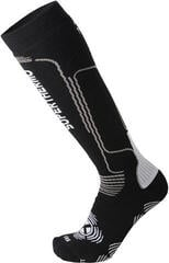 Mico Heavy Weight Primaloft Ski Socks Nero Grigio