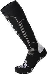 Mico Heavy Weight Primaloft Ski Socks Nero Grigio