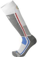 Mico Medium Weight Official Italy Ski Socks Bianco