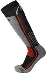 Mico Medium Weight Official Italy Ski Socks Nero