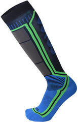 Mico Light Weight Argento X-Static Ski Socks Blue