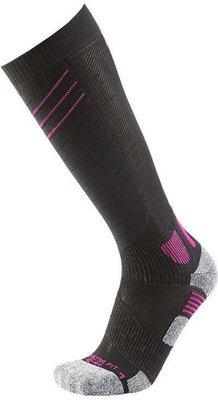 UYN Ultra Fit Dámske Lyžiarske Ponožky Black/Pink Paradise 35-36