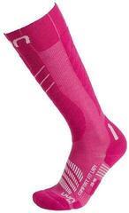 UYN Comfort Fit Womens Socks Pink/White