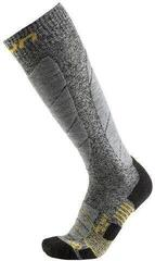 UYN Pro Race Mens Socks Grey Melange/Pearl Grey