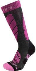 UYN Juniors Socks Anthracite Melange/Violet 35-38