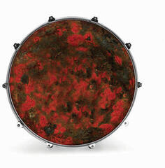 "Evans INK24TXTRDRUST 24"" TEXTURE RED RUST Resonant Drum Head"