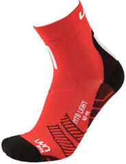 UYN Cycling MTB Mens Socks Red/White