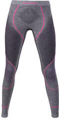 UYN Ambityon Womens Pant Long Black Melange/Purple/Raspberry