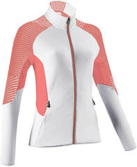UYN Climable Womens Jacket Off White/Coral/Medium Grey