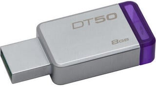 Kingston 8GB Datatraveler DT50 USB 3.1 Gen 1 Flash Drive Purple