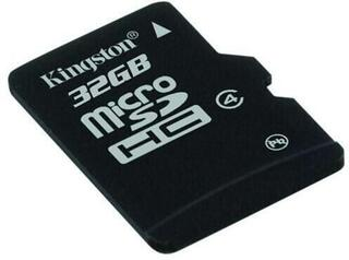 Kingston 32GB Micro SecureDigital (SDHC) Card Class 4 w SD Adapter