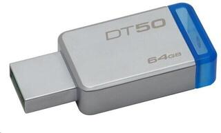 Kingston 64GB Datatraveler DT50 USB 3.1 Gen 1 Flash Drive Blue