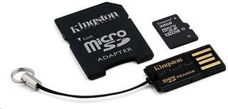 Kingston 32GB microSDHC Memory Card Gen 2 Class 10 Mobility Kit