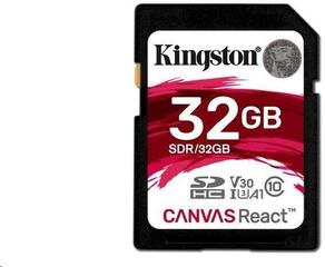 Kingston 32GB Canvas React UHS-I SDHC Memory Card