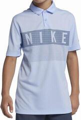 Nike Dry Graphic Gyerek Golfpóló Royal Tint/Royal Tint