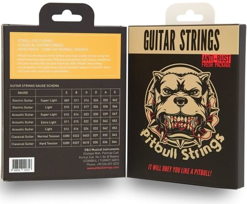Pitbull Strings GCG HM 0285-044 Classical Flamenco