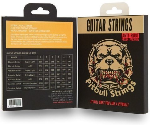Pitbull Strings GEG SL 09-42 Electric Guitar Super Light