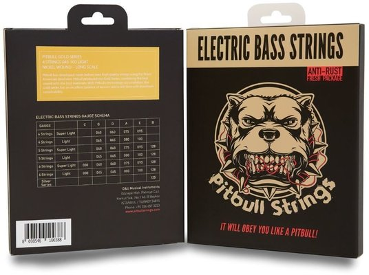 Pitbull Strings GEB-4 L 45-100 Bass Light