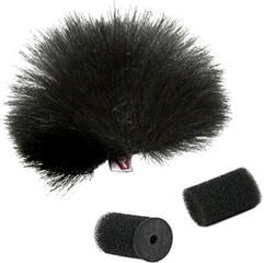 Rycote Black Lavalier Windjammer Single