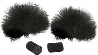 Rycote Black Lavalier Windjammer Pair