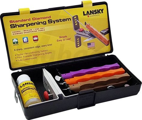 Lansky LK3DM 3-Stone Standard Diamond System