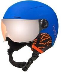 Bollé Quiz Visor Ski Helmet Matte Royal Blue