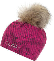 Eisbär Rumer Fur Crystal Womens Black/Pink/Light Pink