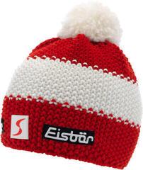 Eisbär Star Pompon Skipool Beanie Red/White/Red