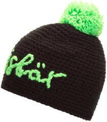 Eisbär Til Pompon Black/Stick + Pom Neongreen