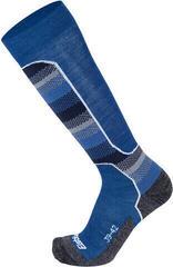 Eisbär Ski Tech Light Pánske Termo Ponožky Dx+Sx Blue 35-38