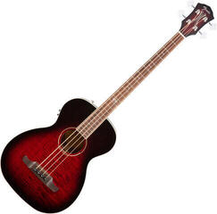 Fender T-Bucket Bass E FLM MPL Trans Cherry Burst V3