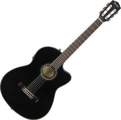 Fender CN-140SCE Nylon WN with Case Black