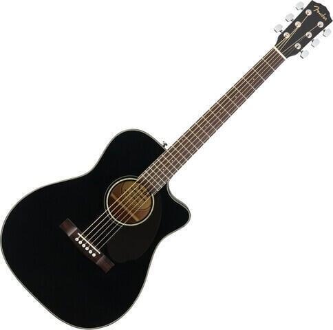 Fender CC-60SCE Concert WN Black