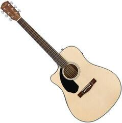 Fender CD-60SCE Dreadnought WN Natural LH